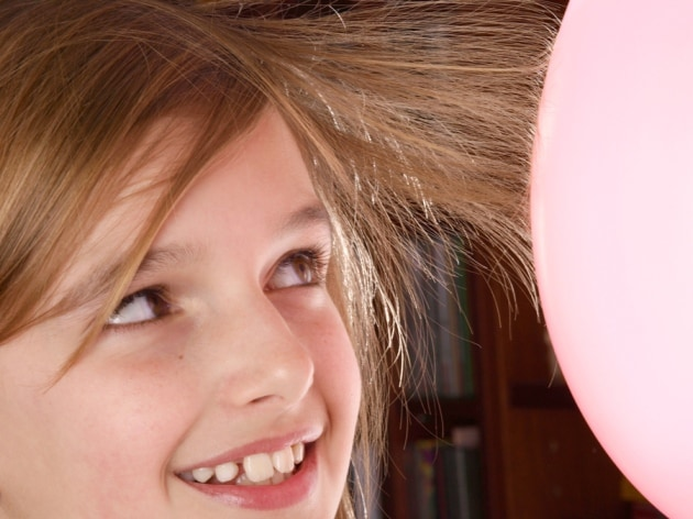 Static electricity is a magnetic force that cannot be seen by the naked eye.