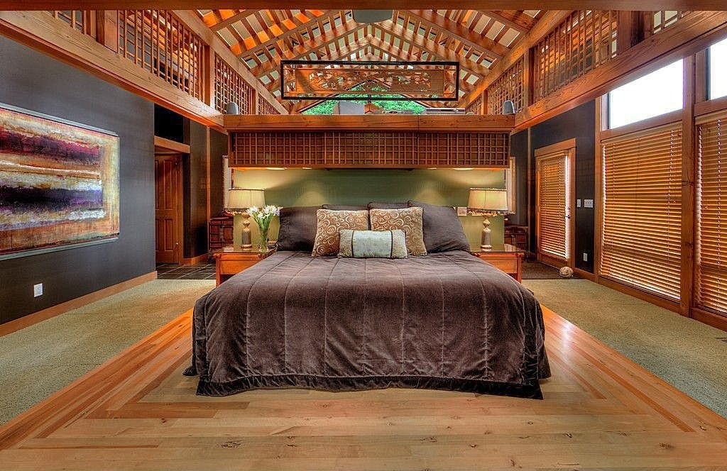 Large bedroom is bad feng shui for sleep