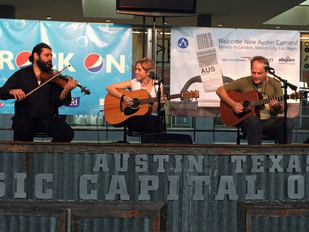 Austin Bergstrom International Airport with Live Music