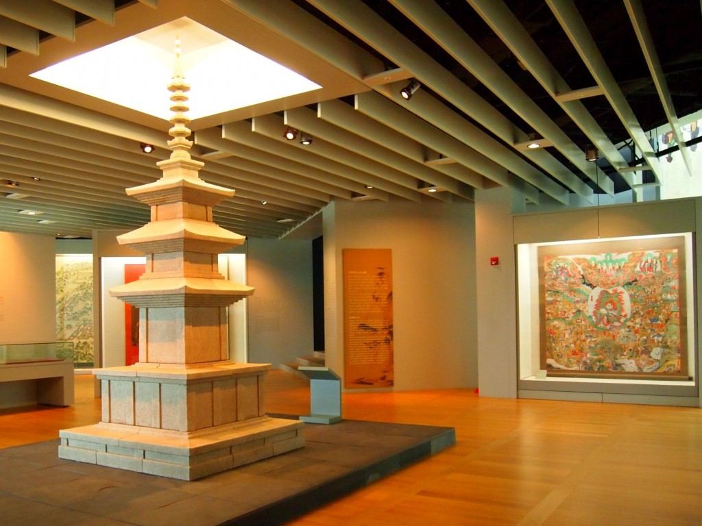 Incheon airport cultural center pagoda cultural attraction