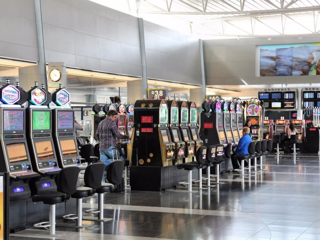 Las Vegas McCarran International Airport Slot Machines Feng Shui