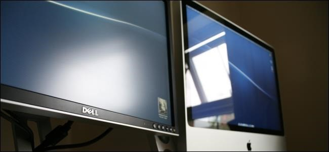 Glare makes it hard to see what's on the computer monitor.