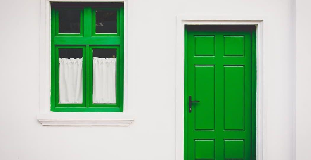 Feng Shui Front door green (Demo)
