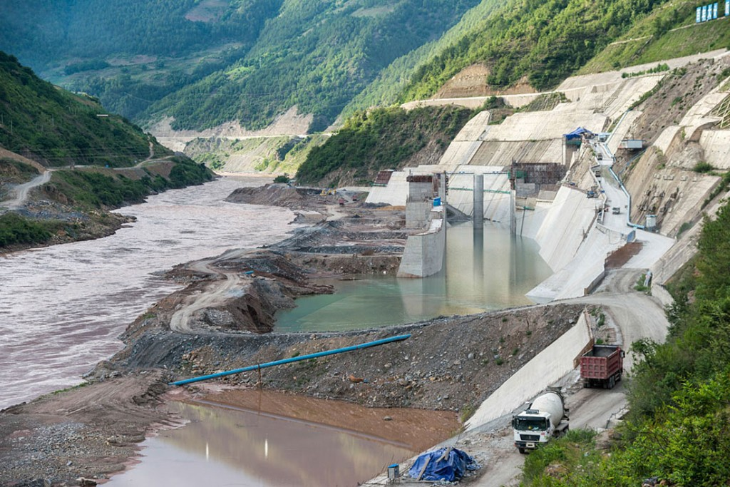 "The massive dam that began construction in 2012 in Laos could ""alter the river's ecology and disrupt the food supplies of millions of people in Southeast Asia."" – Joshua Zaffos, Published on Yale University website."